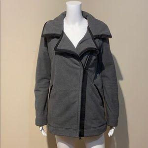 Lululemon Moto Jacket Black / Ambient Grey / Black